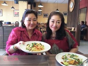 ♥ワサナ先生とお姉さんタムさん♥ 日曜日赤い服で!